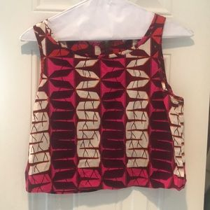 Pink and Purple Anthropologie Tank